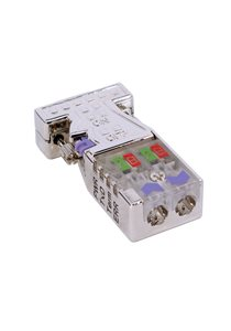 VIPA 972-0DP30 | Profibus Connector w/ LEDs - 0/180 Degrees