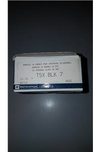 Telemecanique Connection terminal for 24 and 32 paths TOR card - TSX BLK 7 - NEW