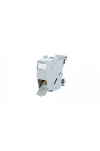 Metz Connect 1309426003-E Network outlet DIN rail CAT 6 Grey-white