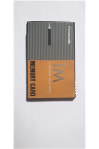 MEMORY CARD F-EEPROM 1MB Panasonic - BN-01MHFR