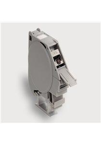 Compact Module Holder, RJ45 Female/IDC