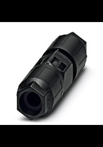 Conductor connectors - QPD C3PE2,5 2X6-10 BK - 1423989