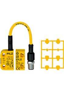PSENcode Magnetic Safety Non-Contact Switch, Coded Actuator, Plastic, 24 V dc