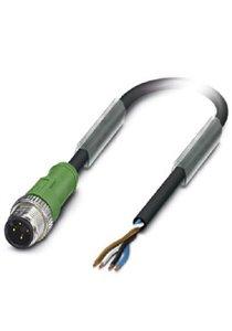 Sensor/actuator cable - SAC-4P-M12MS/ 3,0-PUR - 1668056